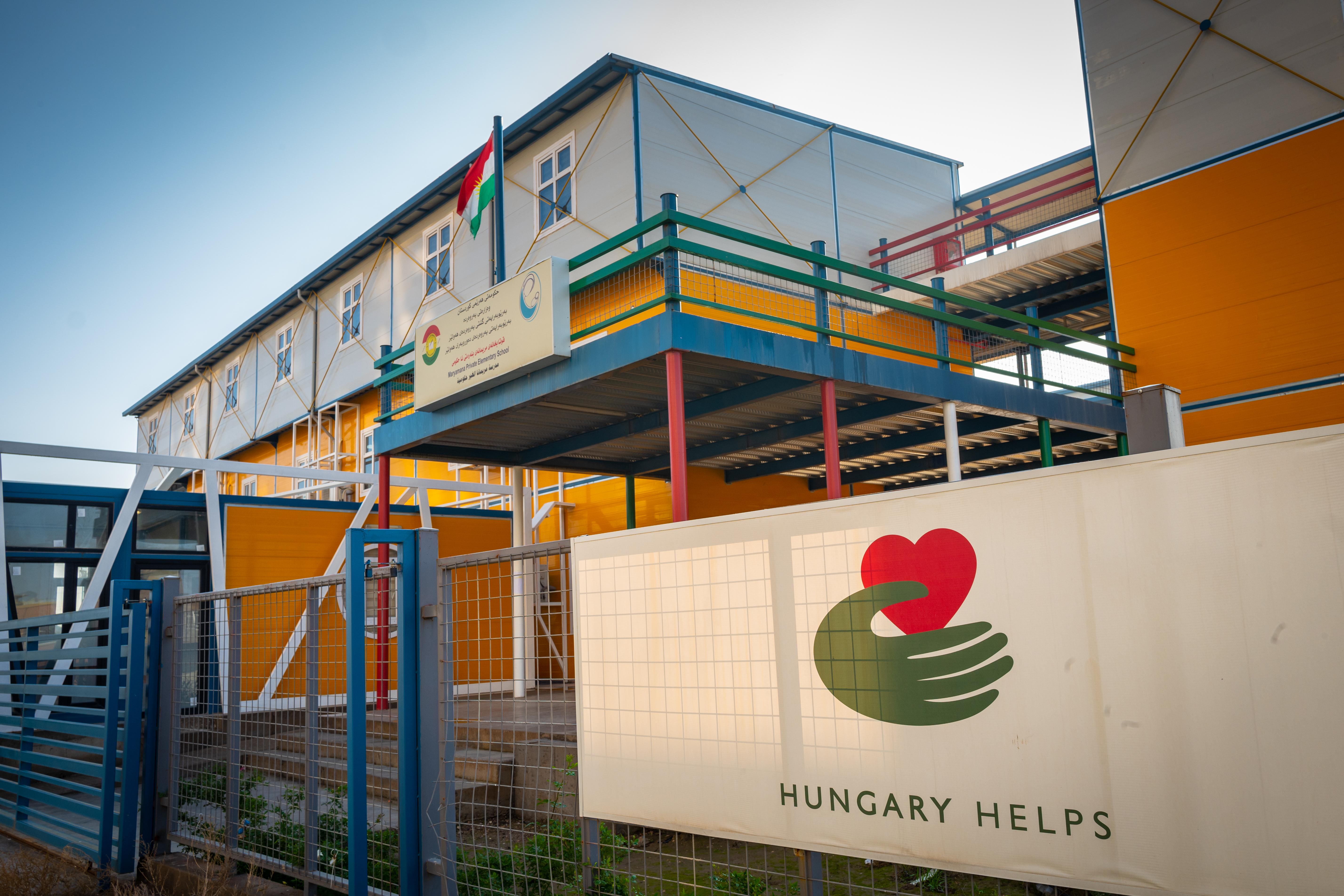 Hungary Helps: Ungarn baut neue Schule im Irak post's picture