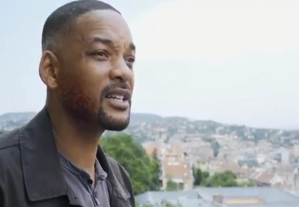 Will Smith postet aus Budapest :) post's picture