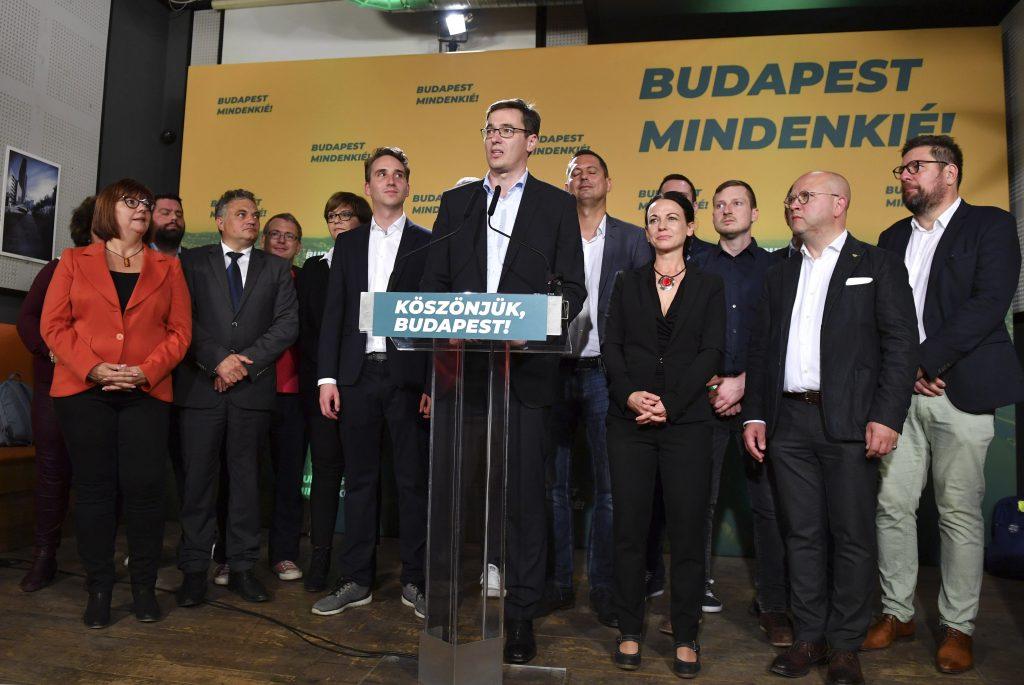 """Karácsony: """"Historischer Sieg für Budapest"""" post's picture"""