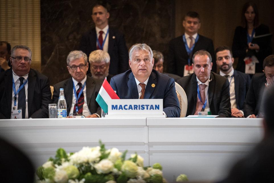 Orbán: Was Ungarn dem Türkischen Rat anbieten könne, sei die Verbindung zu Europa