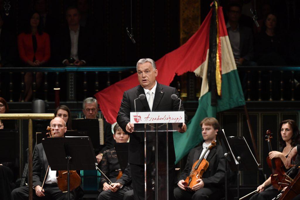 """Orbán: """"Wir wollten 1956 ein freies, unabhängiges Ungarn"""""""