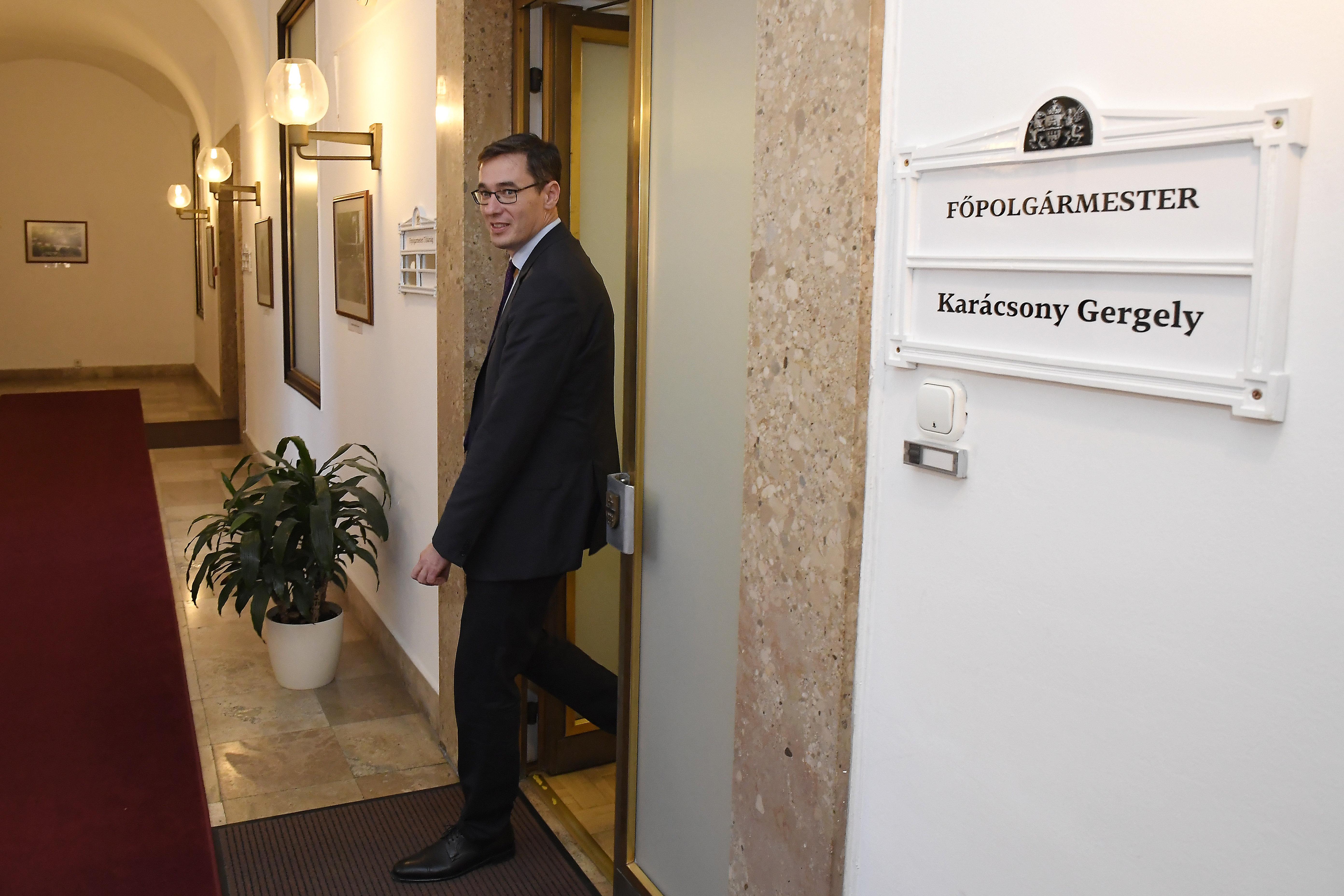 """Karácsony will den ex-Bürgermeistern den Titel """"Ehrenbürger von Budapest"""" verleihen post's picture"""