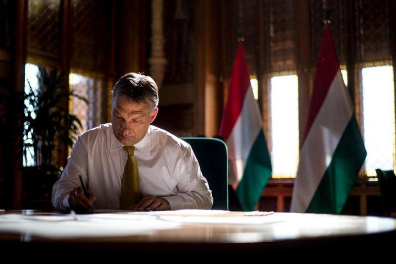 Orbán gratuliert Rumäniens Orban zu seiner Wahl post's picture