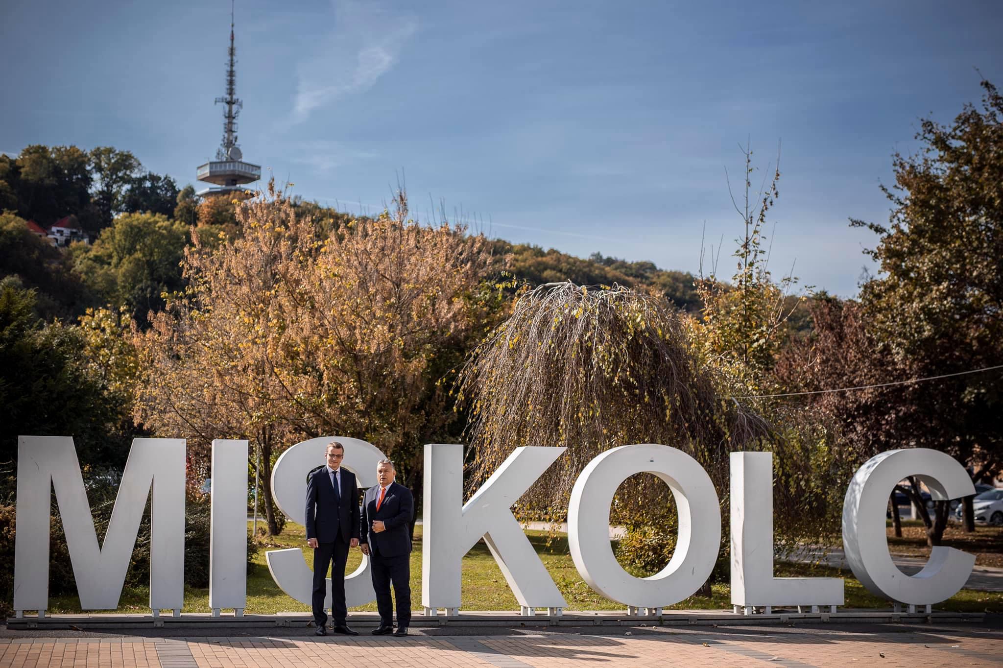 """Orbán: """"Miskolc soll auf der Gewinnerseite bleiben"""" post's picture"""