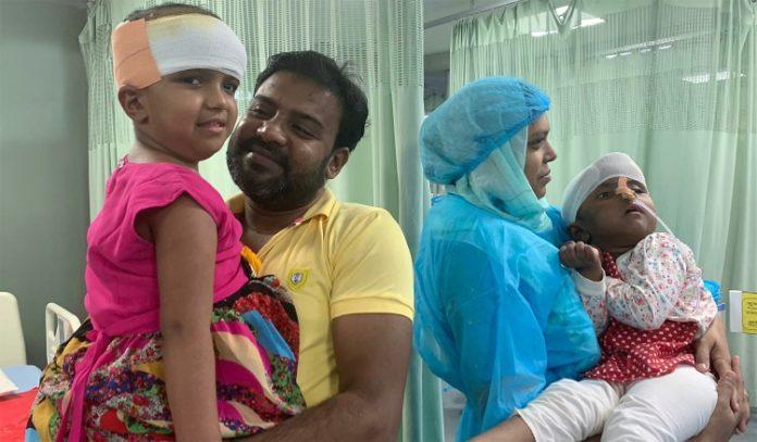 Siamesische Zwillinge: auch Rokaiya aus der Intensivstation entlassen post's picture