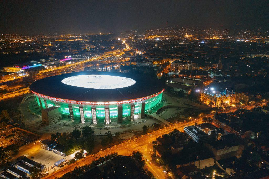 Uruguay besiegt Ungarn bei der Eröffnung der Puskás Aréna