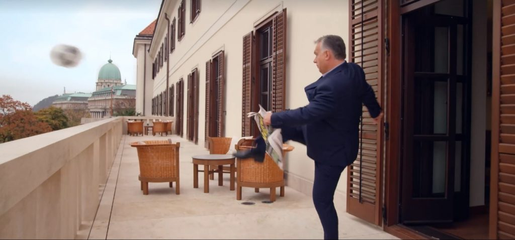 Orbán wirbt für brandneues Puskás-Stadion – mit Video!