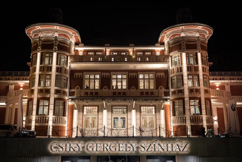 Csiky-Theater in Kaposvár neueröffnet