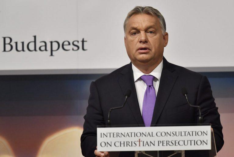 """Orbán: """"Europa kann nur durch die Rückkehr zum Christentum gerettet werden"""""""
