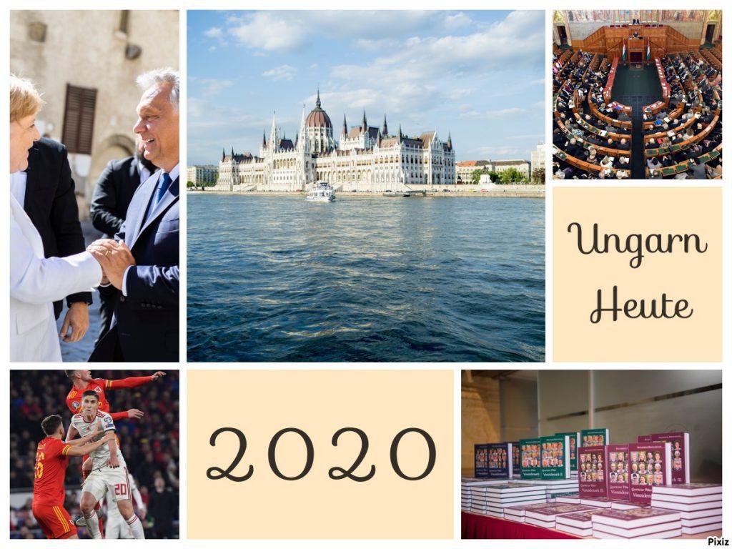 Ungarn Heute wünscht Ihnen ein Glückliches Neues Jahr!