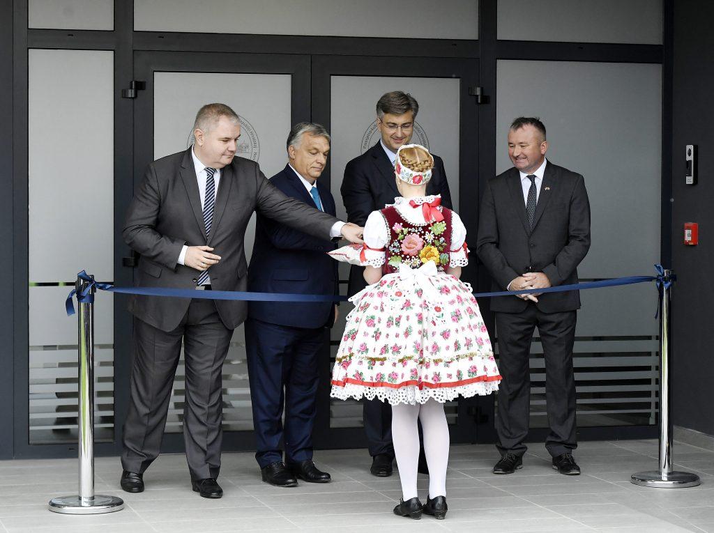 "Orbán in Eszék: ""Ziele der kroatischen EU-Ratspräsidentschaft liegt uns am Herzen"""