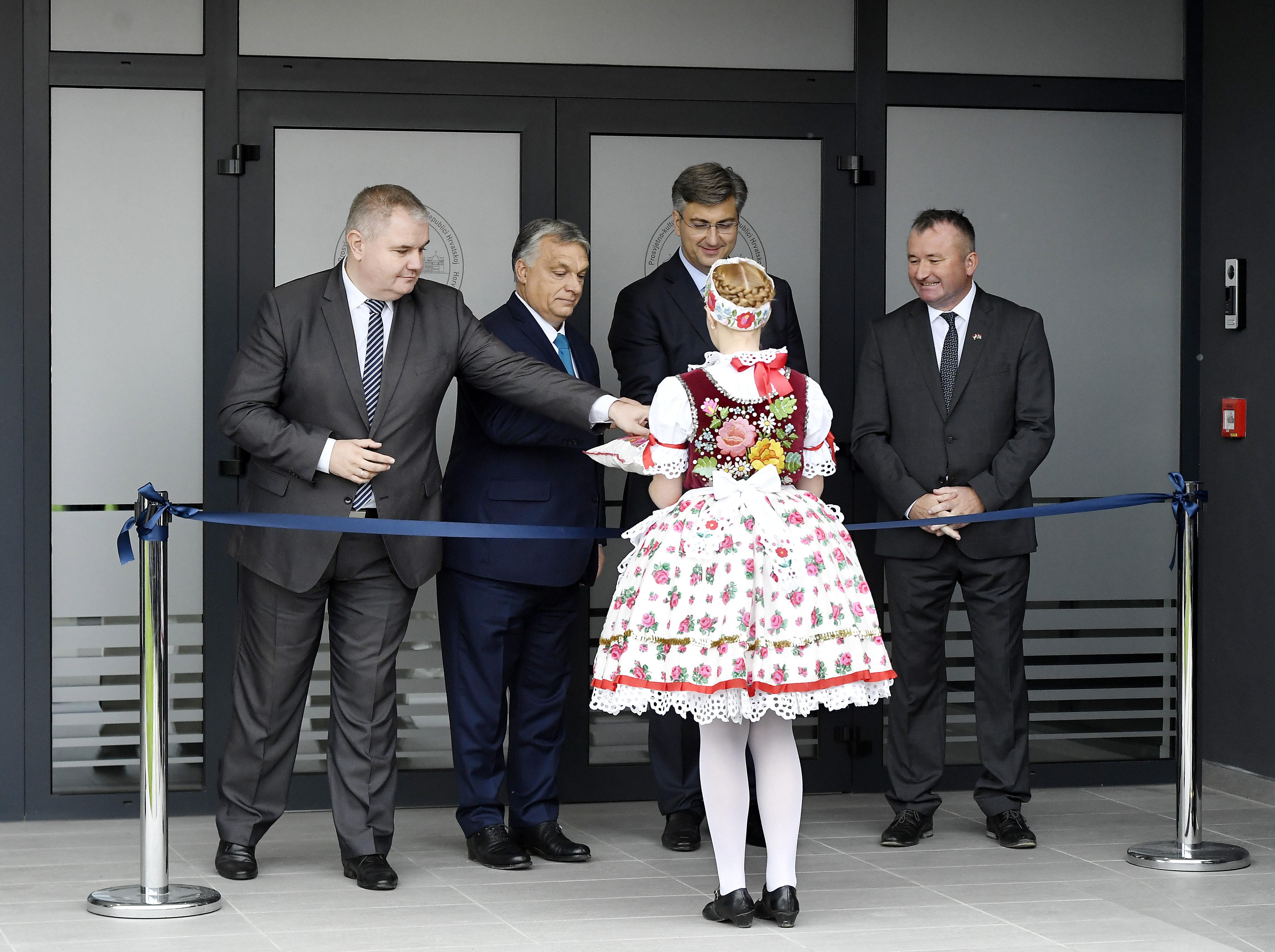 """Orbán in Eszék: """"Ziele der kroatischen EU-Ratspräsidentschaft liegt uns am Herzen"""" post's picture"""