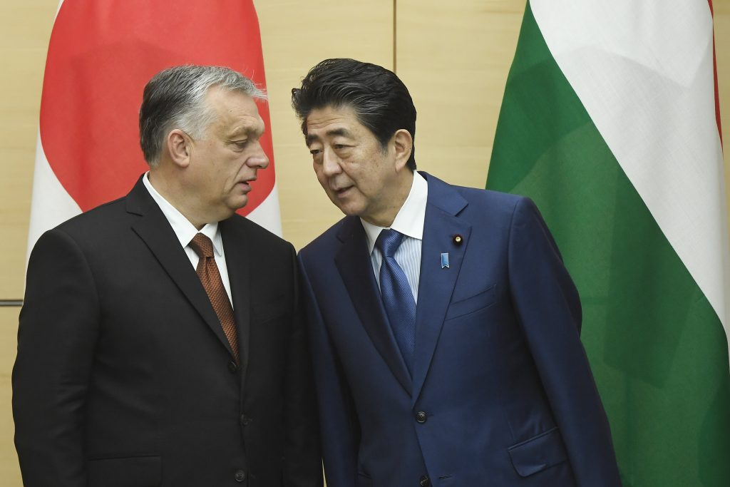 Orbán in Japan: Ungarn fordert Koreas nuklearische Abrüstung post's picture