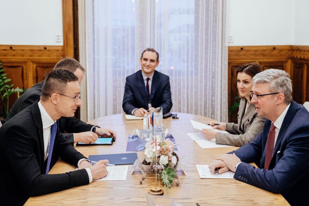Szijjártó: V4 erwartet, dass die neue Kommission die EU-Erweiterung beschleunigt