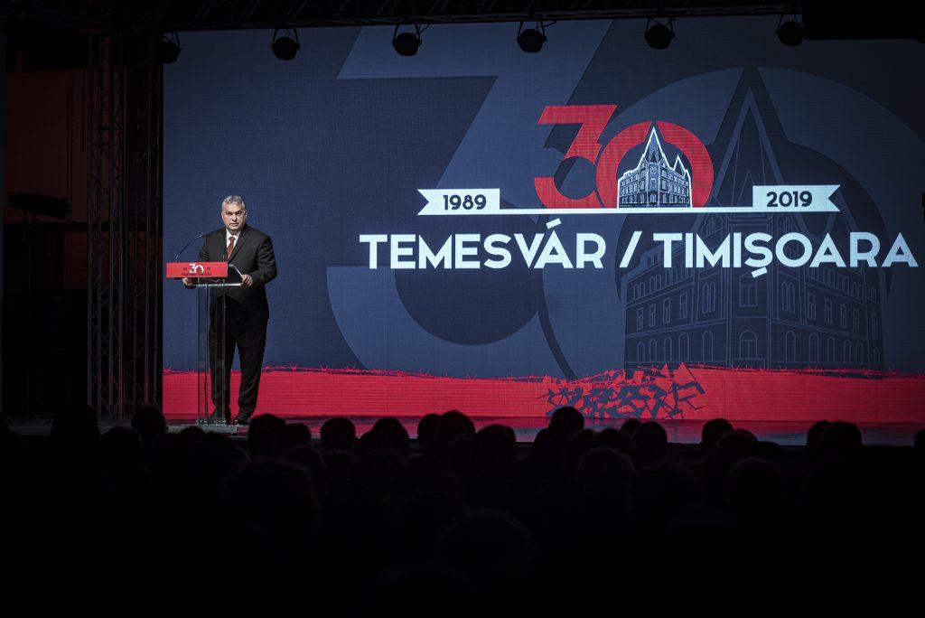 """Orbán in Temesvár: """"Wir sind bereit, ein neues Mitteleuropa aufzubauen"""""""