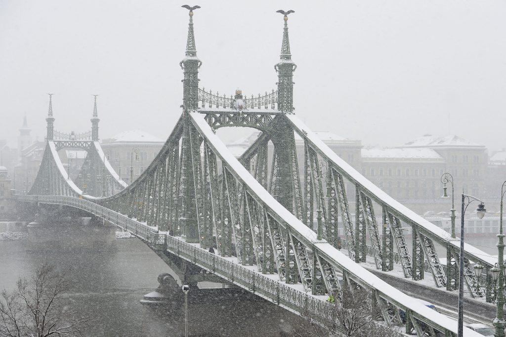 Das halbe Land kann mit Schnee bedeckt werden