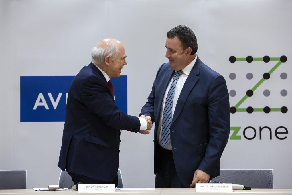 Österreichsisches AVL für selbstfahrende Fahrzeuge in Ungarn