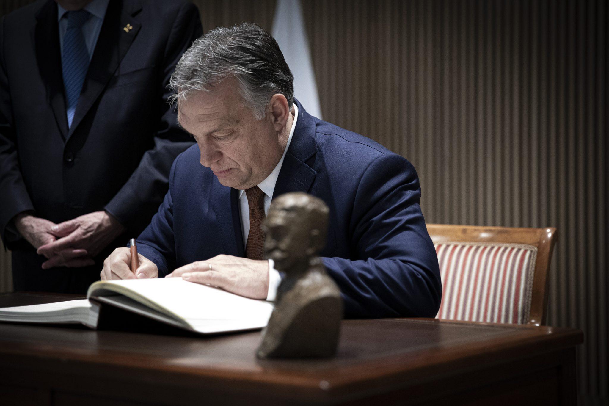 Orbán über János Horváth: Tapferer Patriot und kompromissloser Politiker post's picture