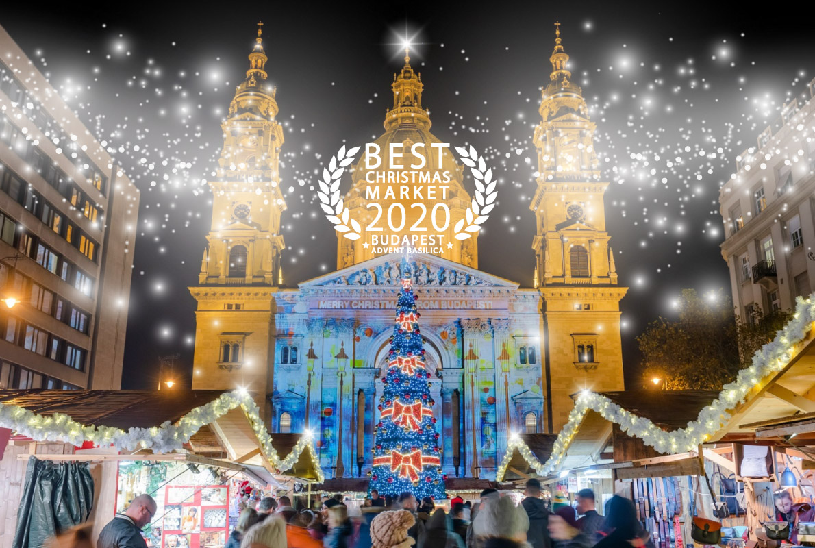 Der schönste Weihnachtsmarkt Europas ist in Budapest