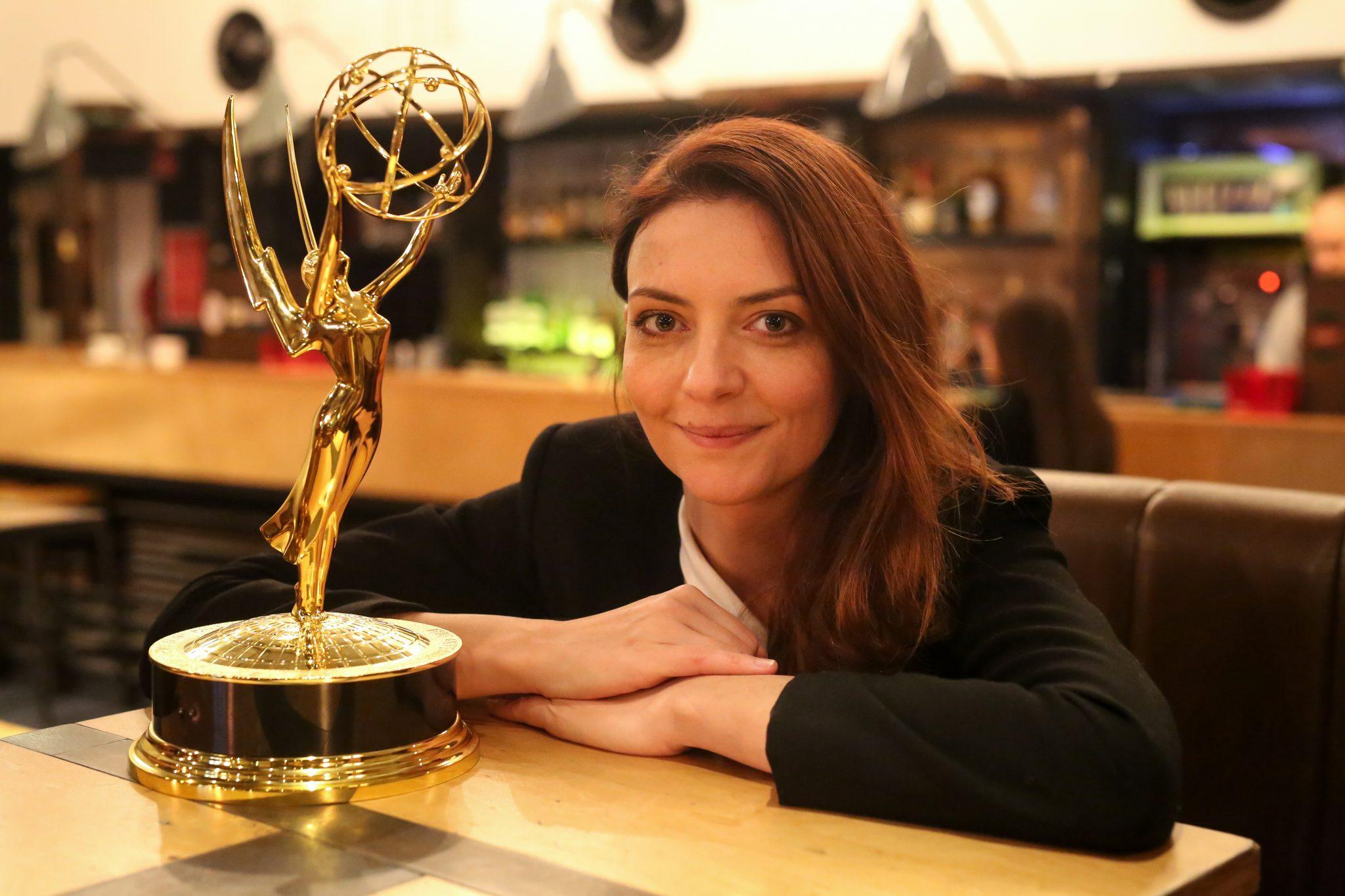 """Emmy-Siegerin Marina Gera: """"Man muss hart für alles arbeiten"""""""