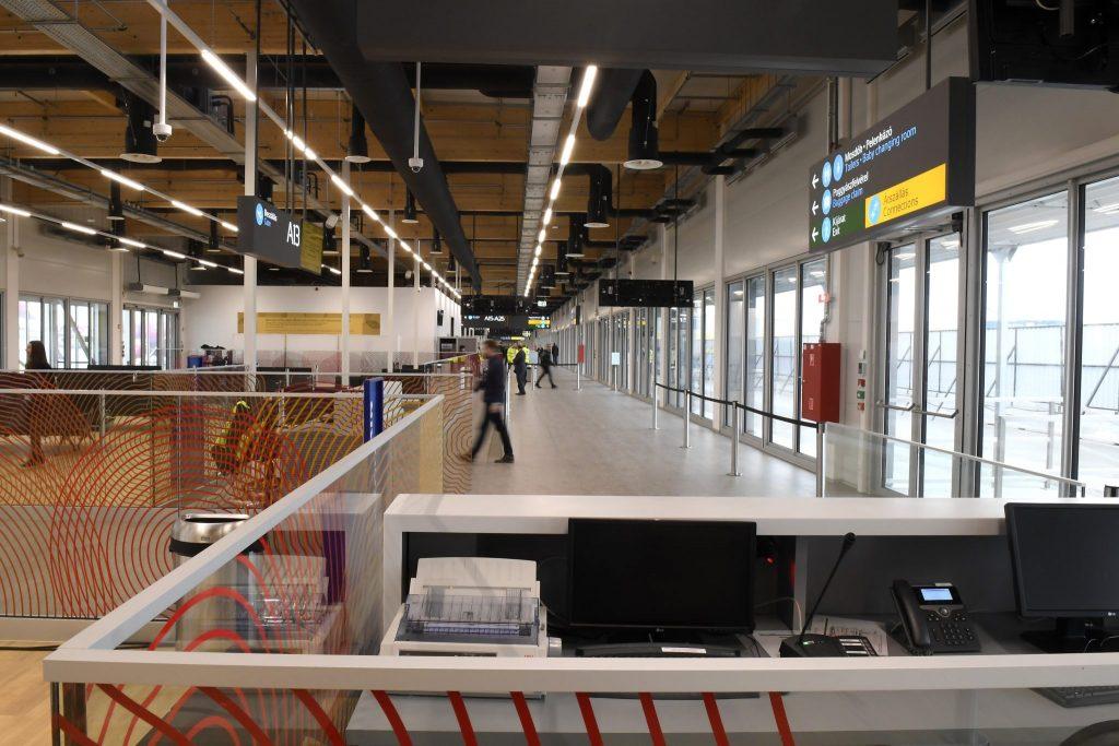 Neues Terminal am Flughafen Budapest übergeben