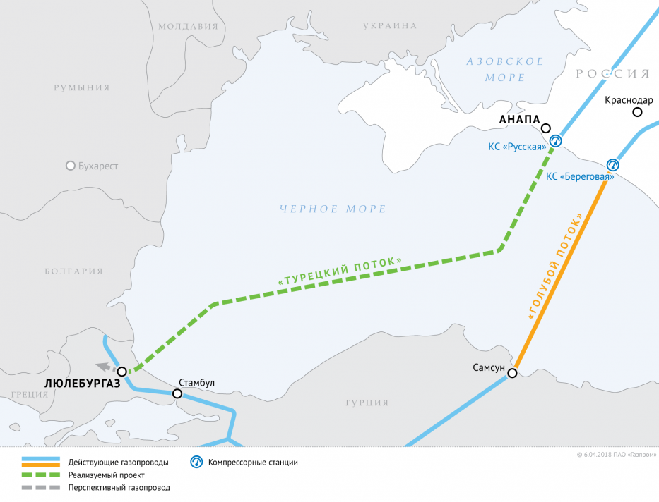 Gas kommt durch TurkStream ab 2021 post's picture