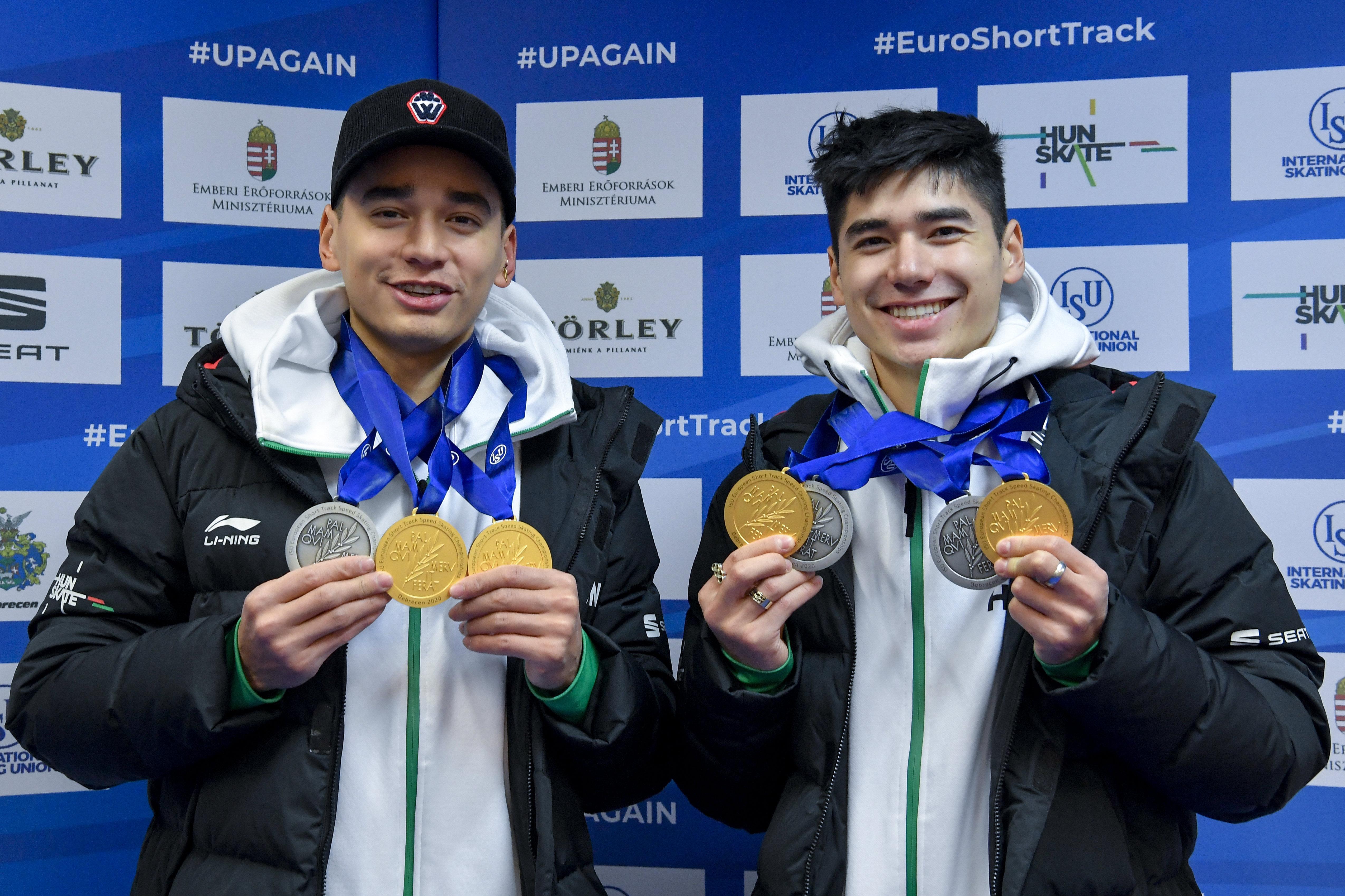 Eisschnelllauf-EM: Gebrüder Liu holen Gold- und Silbermedaillen post's picture