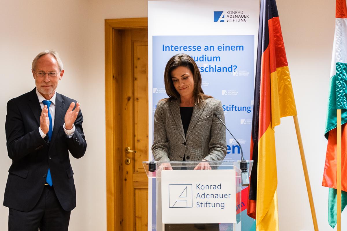 Justizministerin: Konrad-Adenauer-Stiftung hilft bei der Pflege der deutsch-ungarischen Beziehungen post's picture