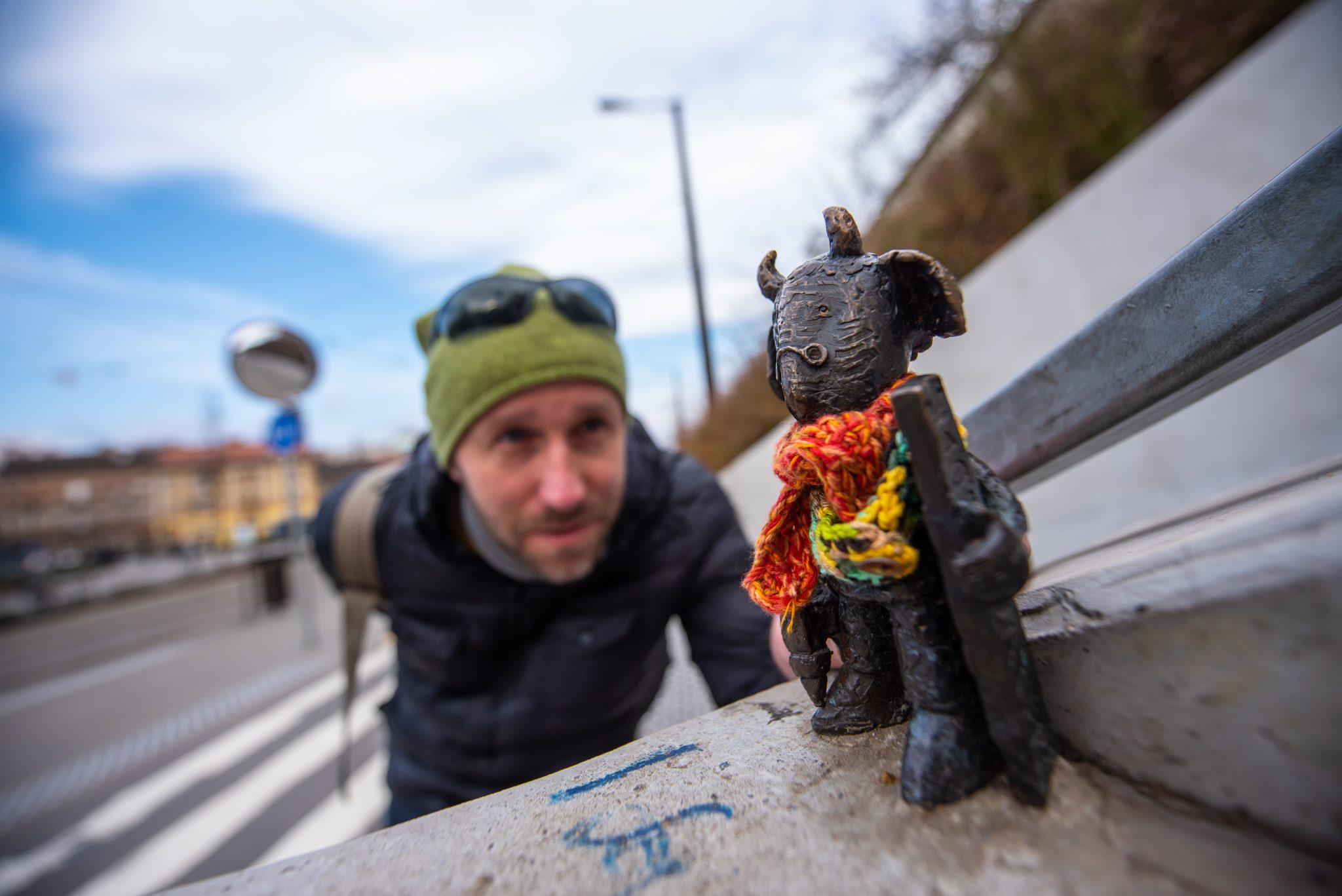 """""""Ich möchte mit den Budapestern durch meinen Skulpturen kommunizieren"""" post's picture"""