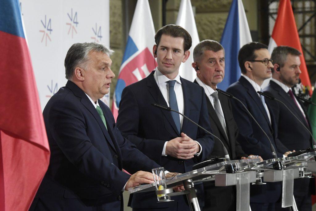 """Orbán: """"Österreich natürlicher Partner der Visegrád-Staaten"""""""