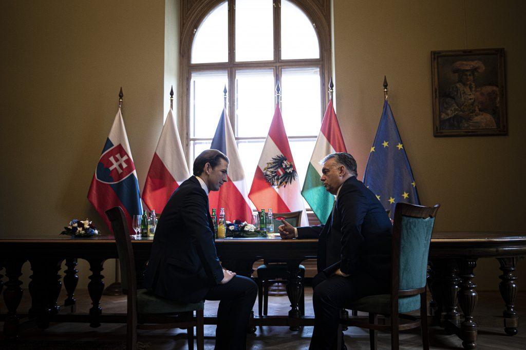 """Bundeskanzler Kurz: """"Orbán hat sich relativ stark durchgesetzt"""""""