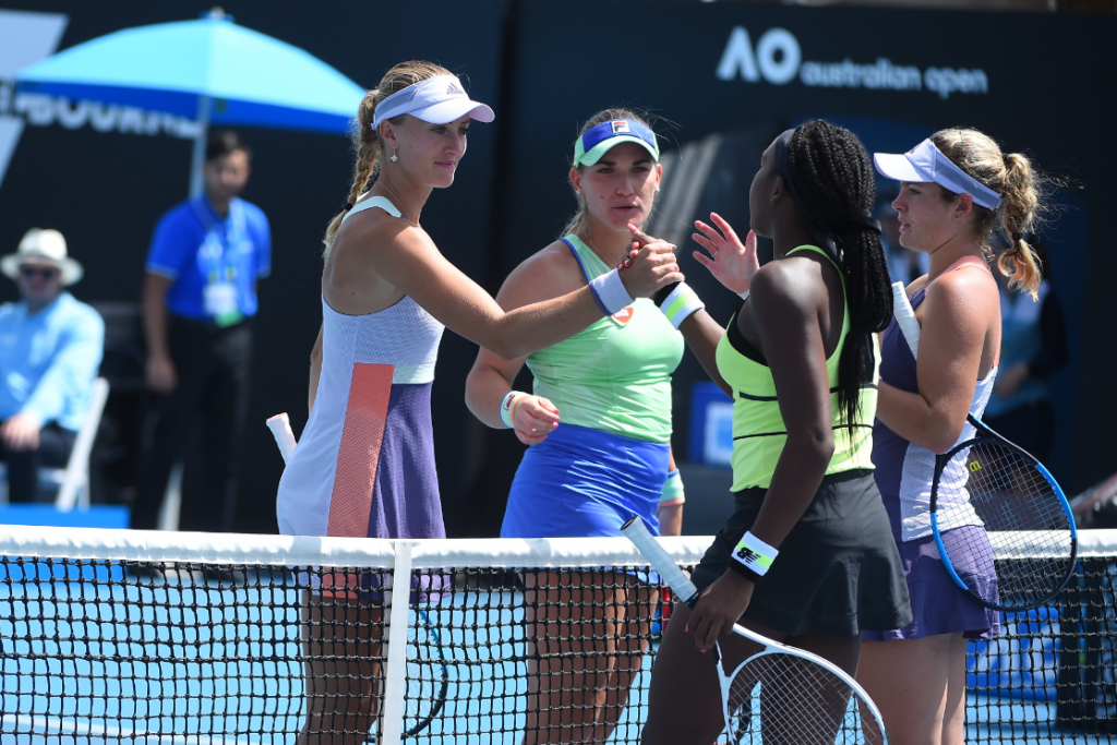 Australian Open:  Babos und Mladenovic spielen für das Finale post's picture