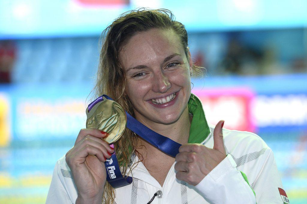 Europas Sportlerin des Jahres 2019: Ungarin Katinka Hosszú!