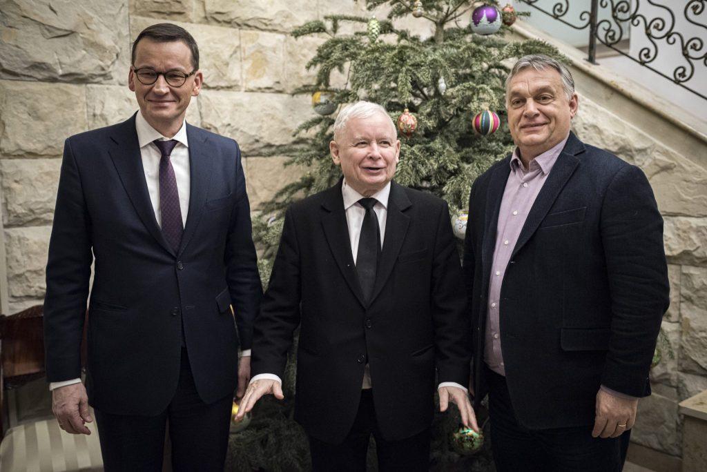 Orbán trifft Kaczynski in Warschau