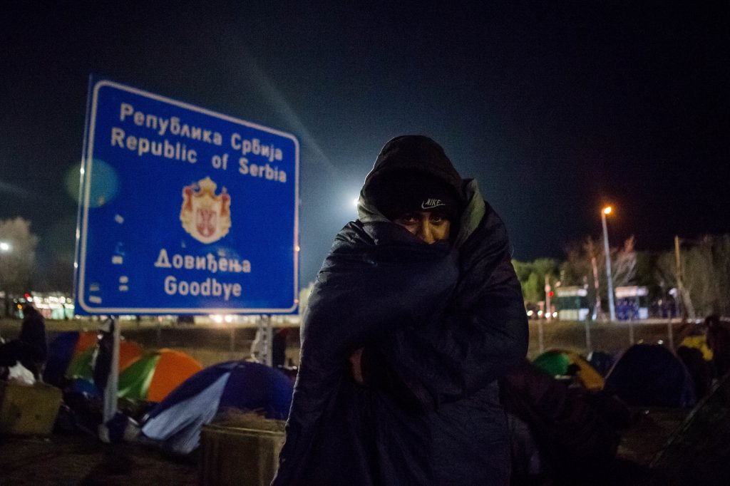 Die Serben transportierten alle Migranten von der ungarischen Grenze weg