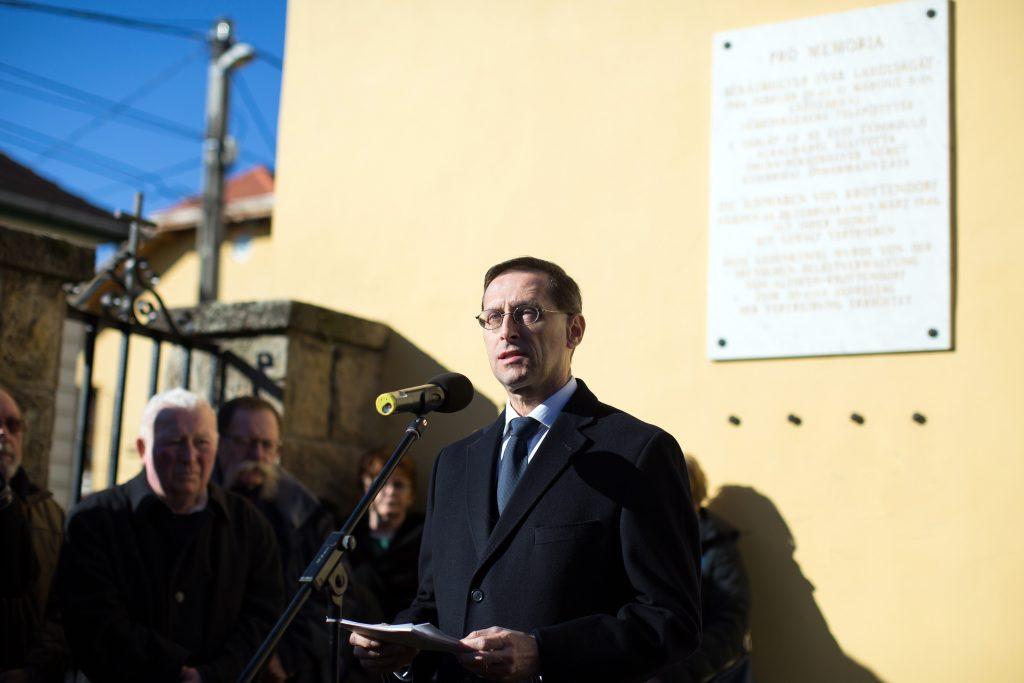 Gedenktag für aus Ungarn vertriebene Volksdeutsche in Budapest