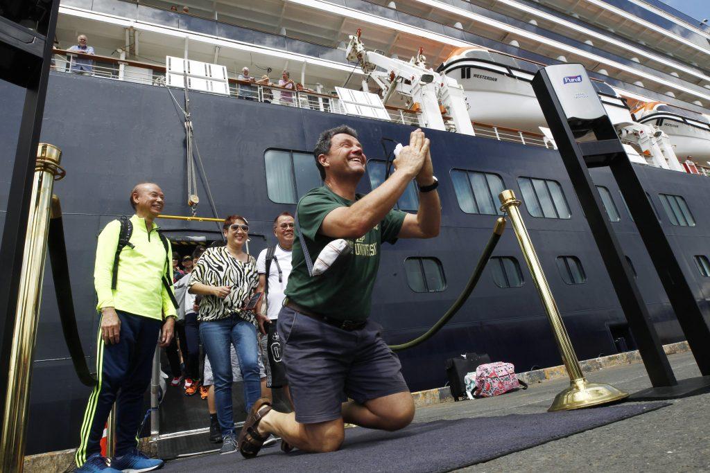 """Coronavirus: Ungarisches Ehepaar kehrt vom Kreuzfahrtschiff """"Westerdam"""" zurück, sind in Qurantäne post's picture"""
