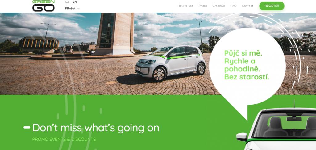 Ungarisches GreenGo startet Carsharing-Dienst in Prag post's picture