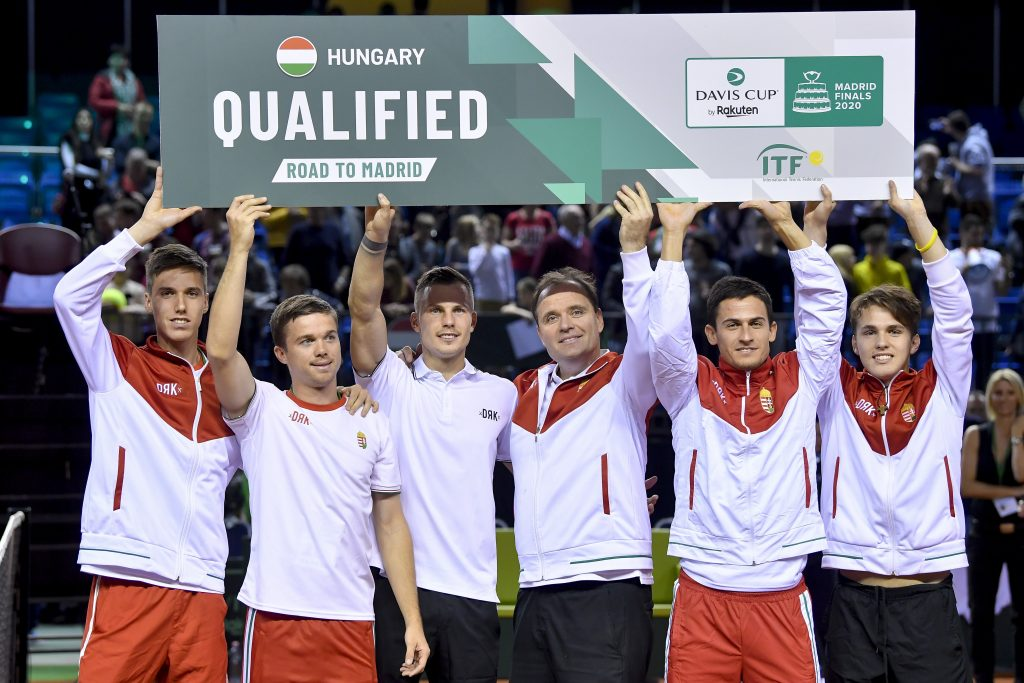 Sensationell! Ungarn kommt ins Davis-Cup-Finale post's picture