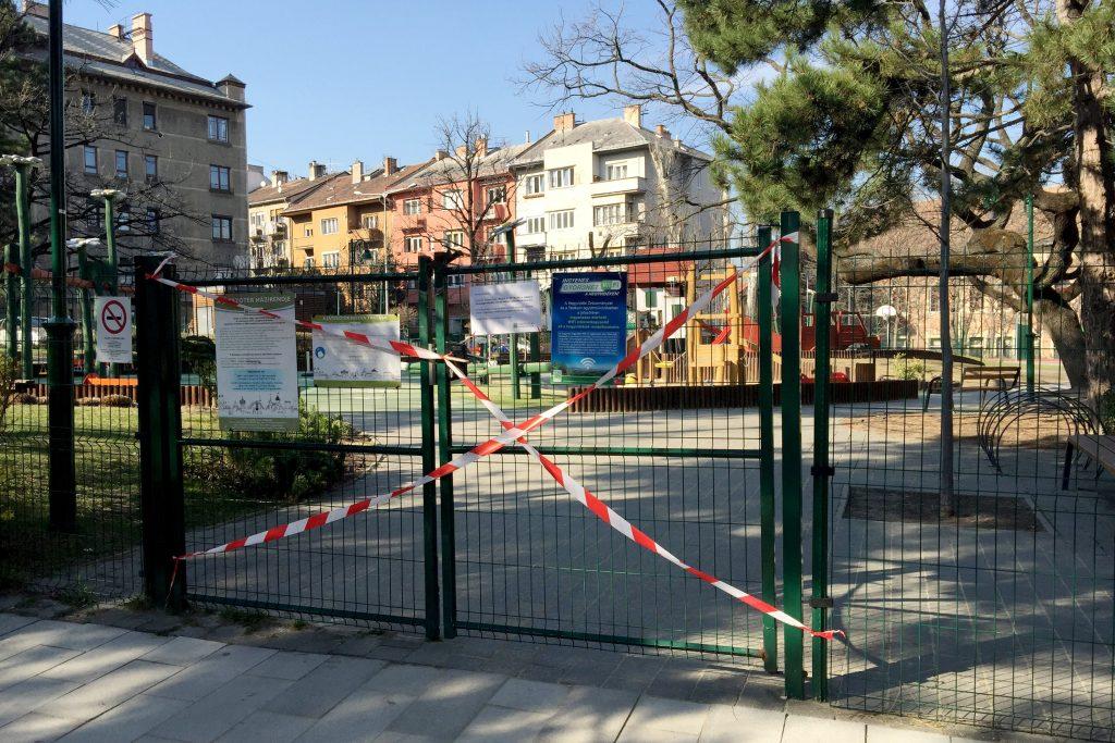 Coronavirus: Spielplätze in Budapest geschlossen