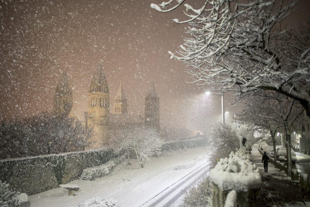 Schnee, Kälte, Frost – Frühling meldet sich ab