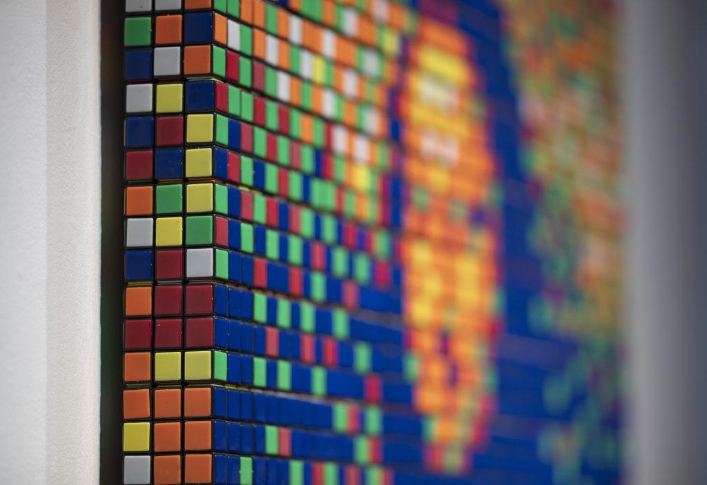 480.000 Euro für Mona Lisa aus Rubiks Würfeln post's picture