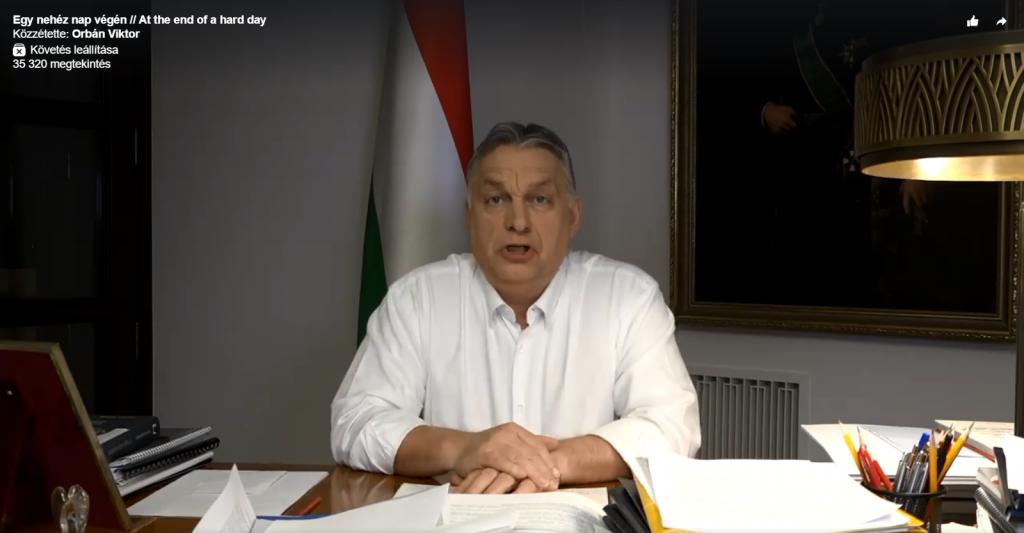 Orbán: Ungarns Schulen sind ab Montag geschlossen