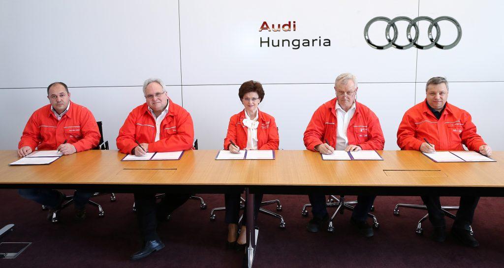 Audi Hungaria Zrt.: Tarifvereinbarung steht
