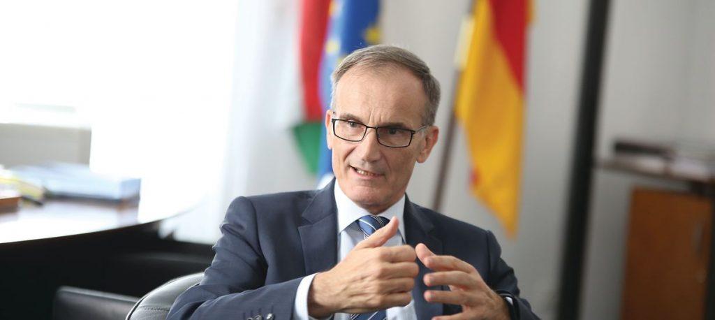 Schreiben von Botschafter Volkmar Wenzel an alle deutschen Staatsangehörigen in Ungarn