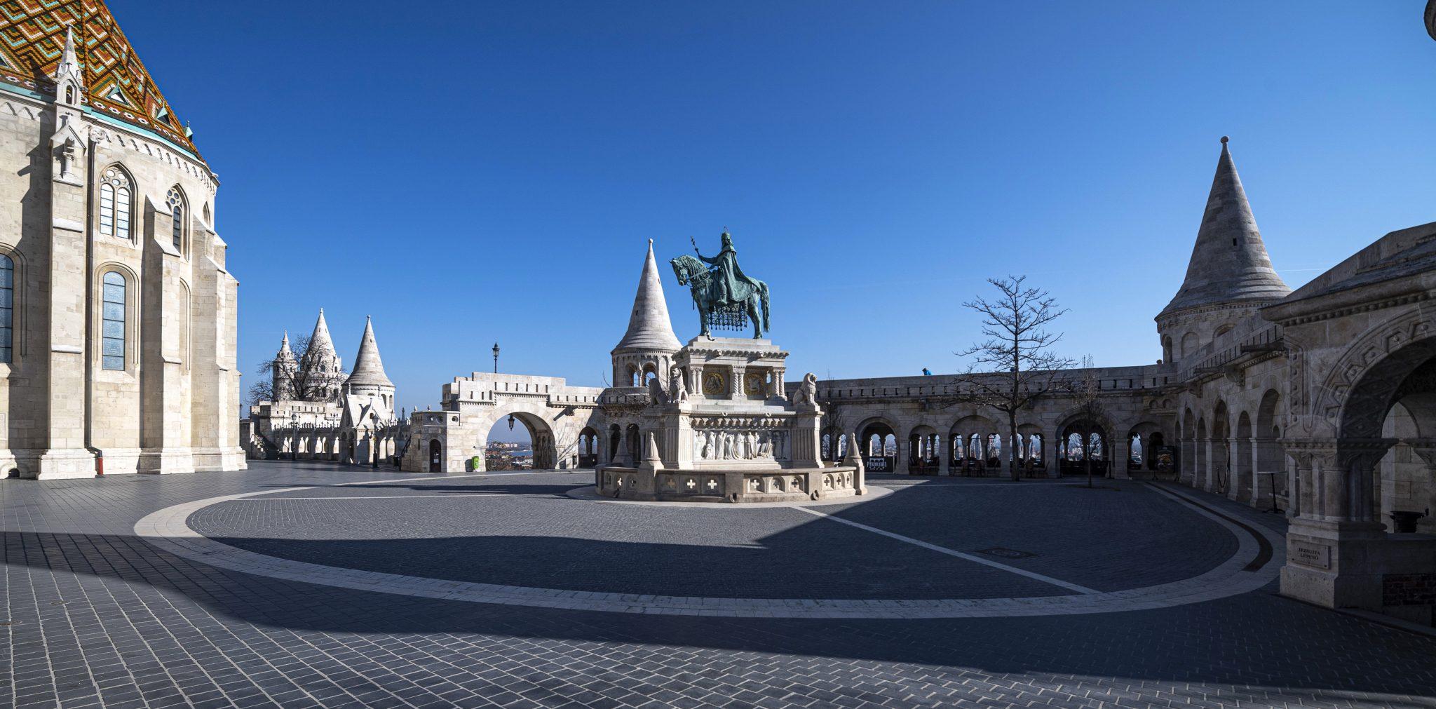 Leere Straßen in Budapest und landesweit - Fotogalerie!