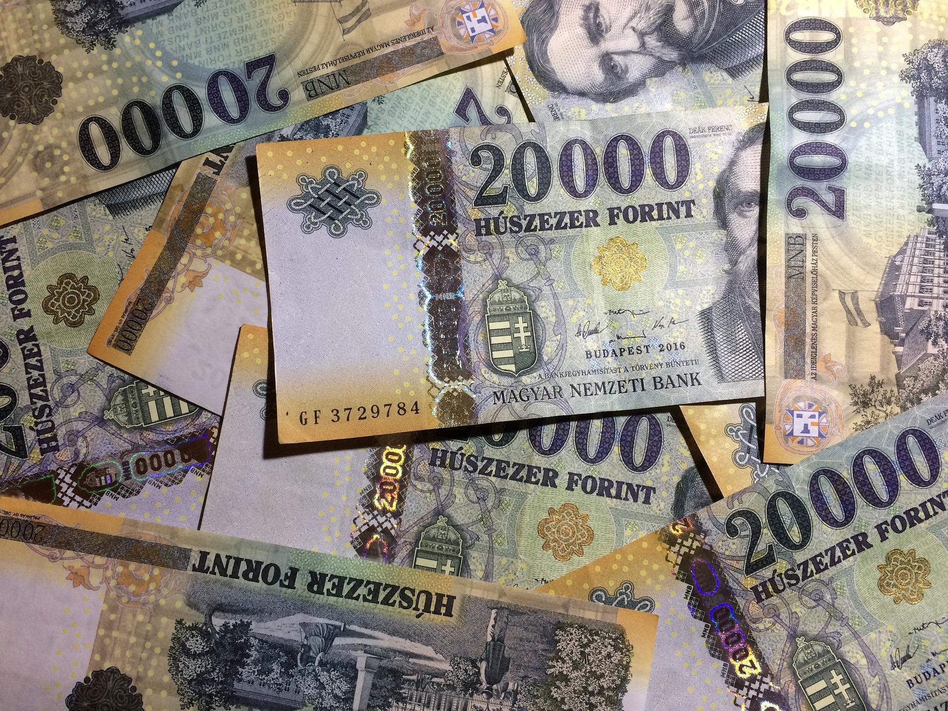 Forint erreicht Rekordtief gegenüber Euro, Dollar post's picture