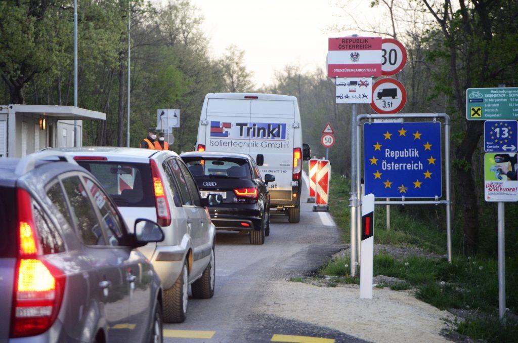 Wiedereröffnung des alten Grenzübergangs bei Hegyeshalom