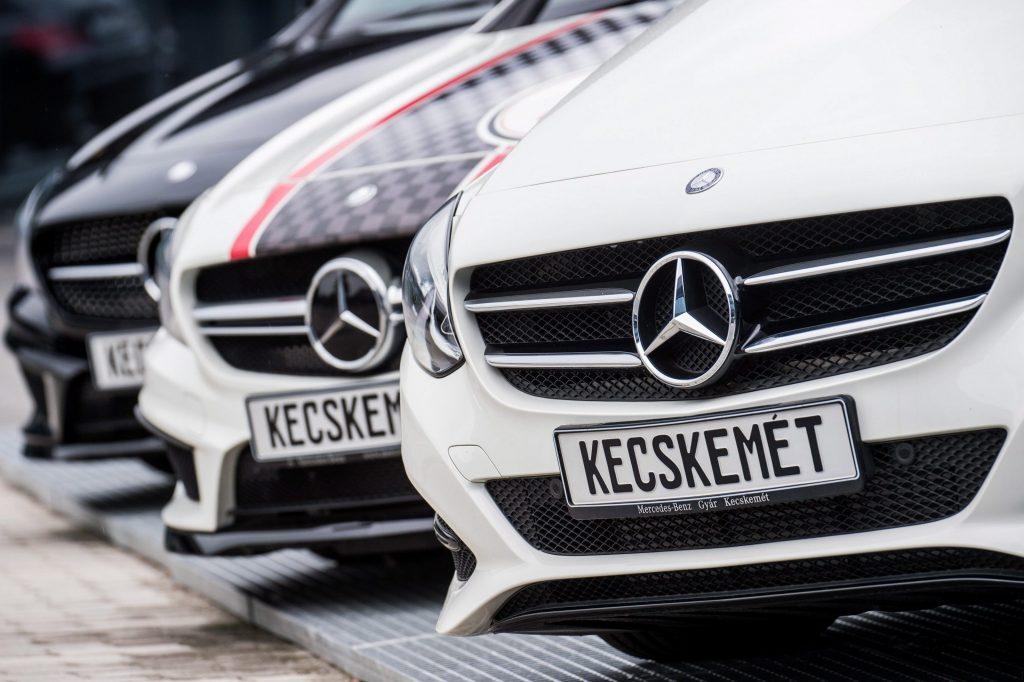 Mercedes nimmt Produktion in Kecskemét wieder auf