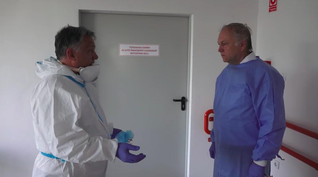 Premier Orbán: Höhepunkt der Pandemie in Ungarn am 3. Mai